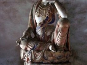 法兴寺著名雕塑十二圆觉菩萨像