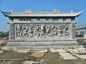 九龙壁雕刻中的文化寓意