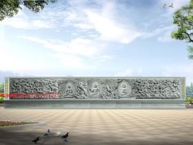 九龙壁照壁造型对浮雕九龙壁的装饰意义