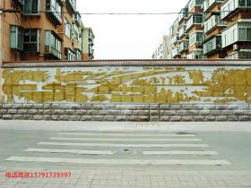 党建文化墙创意与党建浮雕墙的意义