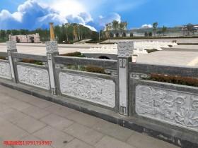 公园石栏杆及公园石护栏如何雕刻