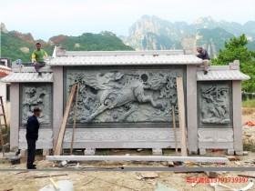 浮雕影壁墙介绍和浮雕迎门墙样式大全