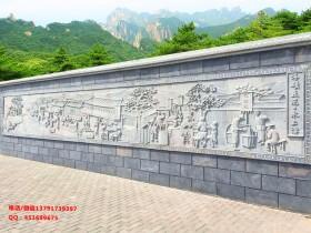 关于校园浮雕文化墙如何雕刻建造