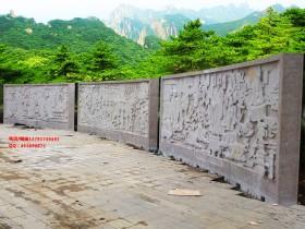 大型浮雕壁画制作可以用哪些石材