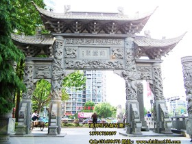 辽宁北镇庙石雕牌坊是怎么修复的