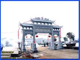 徽州石雕牌楼牌坊文化