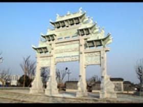 上海嘉定的石雕牌坊赏析