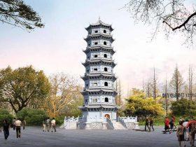 石雕石塔图片_寺院佛塔样式都有哪些造型分类