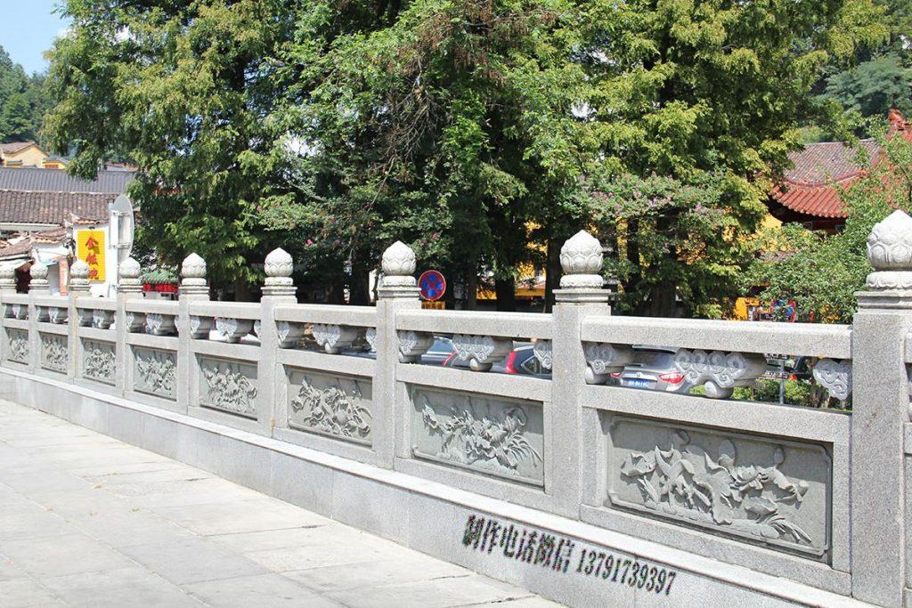 青石桥栏杆石材护栏具体详情介绍