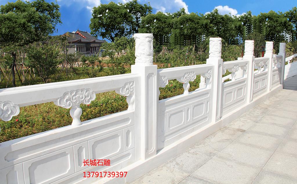 长城石雕汉白玉栏杆图片