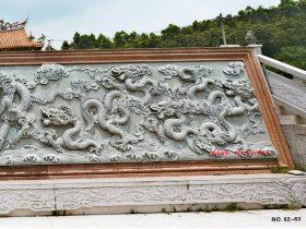 九龙壁浮雕壁画图片雕刻有何过人之处能够引来无数游客