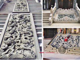 九龙御道丹陛石浮雕壁画让建筑物间的连接顺畅
