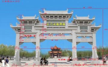 牌楼是什么建筑-修建村口牌楼体现的文化底蕴-长城石雕公司