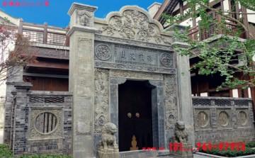 农村大门门楼好看的图片和徽州石门头文化价值