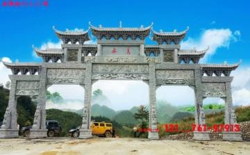 农村石牌坊石牌楼为什么是独具特色的大门建筑