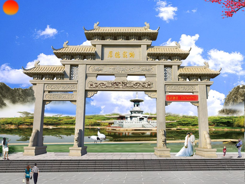 广东江门村口石牌坊设计制作有哪些要求