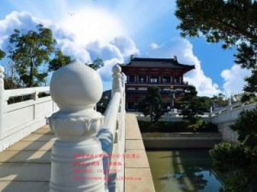 六个好看的寺院古建筑石栏杆图片