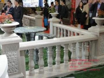 别墅栏杆图片大全_古建筑阳台石材栏杆加工厂家