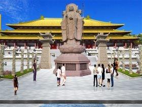 石雕地藏王菩萨像雕刻图片