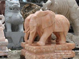 石雕大象寓意好-摆放事项要知道