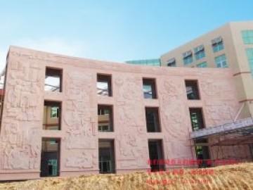 楚河汉街的浮雕和广场石牌坊以及广场景观人物雕刻设计制作