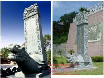 寺院捐款功德碑图片大全_龙头碑龟驼碑石碑历代特色