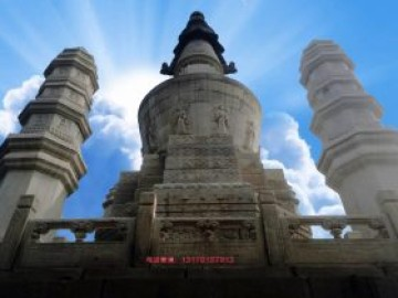 石雕佛塔雕刻风格-以北京永宁寺石塔工艺为例子