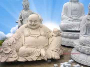 石雕大肚弥勒佛图片样式大全和寓意