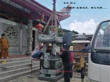 寺院大理石香炉圆形_石雕香炉长型和莲瓣香炉发展历史