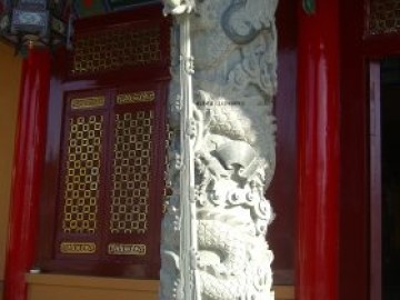 古建筑石雕龙柱寓意和图片大全