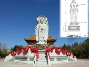 观音像佛像厂家定做价格-南海观音菩萨像的为什么都是拿着柳枝和净瓶呢