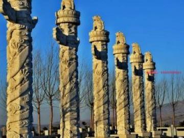 北京天安门华表柱文化柱图片的寓意和启示