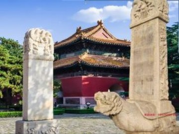 龟驼碑龙头碑和北京皇陵石碑图片赏析