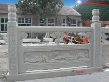 汉白玉栏杆厂家-四川汉白玉和山东汉白玉大理石栏杆有什么区别