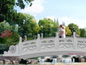 嘉祥古建石栏杆河道花岗岩护栏和建筑的关系