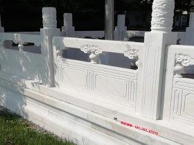汉白玉围栏和花岗岩栏杆多少钱一米