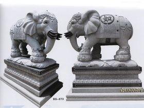花岗岩石雕大象雕刻寓意和价格以及制作流程