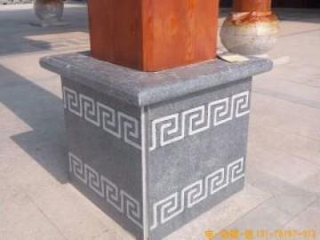 柱墩石寓意和图片样式大全-方形柱顶石柱脚石加工厂家