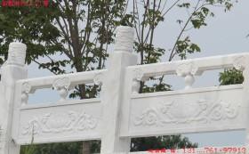 河道护栏图片_花岗岩景观护栏栏杆制作价格-长城石雕公司