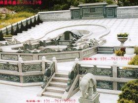 农村好看坟墓墓碑图片大全-大理石坟墓风水和价格-长城石雕公司