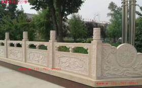 河道景观护栏厂家-桥梁河道护栏-石栏杆图片大全