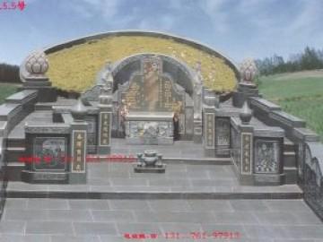 农村好看坟墓图片_历代陵园墓碑石碑神兽风水-长城石雕公司