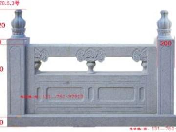 景区石栏杆的标准尺寸和河道栏杆起源及发展-长城石雕公司