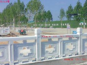 河道护栏栏杆吉祥构件设计图集和石栏杆价格多少钱-长城石雕公司