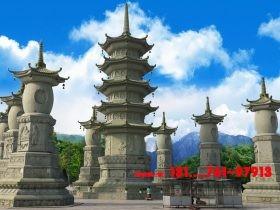 石塔三大类和佛塔的六大图片样式