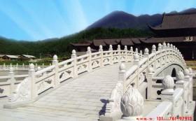 园林景观桥拱桥石栏杆构成要素