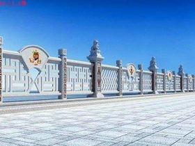 石栏杆图片尺寸设计和石护栏价格多少钱
