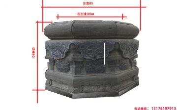 柱子石墩柱础图片雕刻图案的寓意