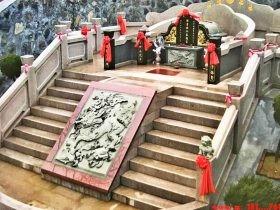 农村坟墓墓碑图片设计成这样-大富大贵
