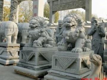 中国石狮子制作寓意和摆放石狮子六大讲究